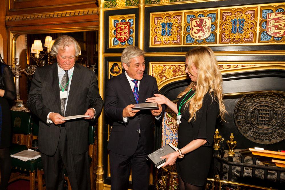Charlotte Kirkwood receiving Marsh Award 2014