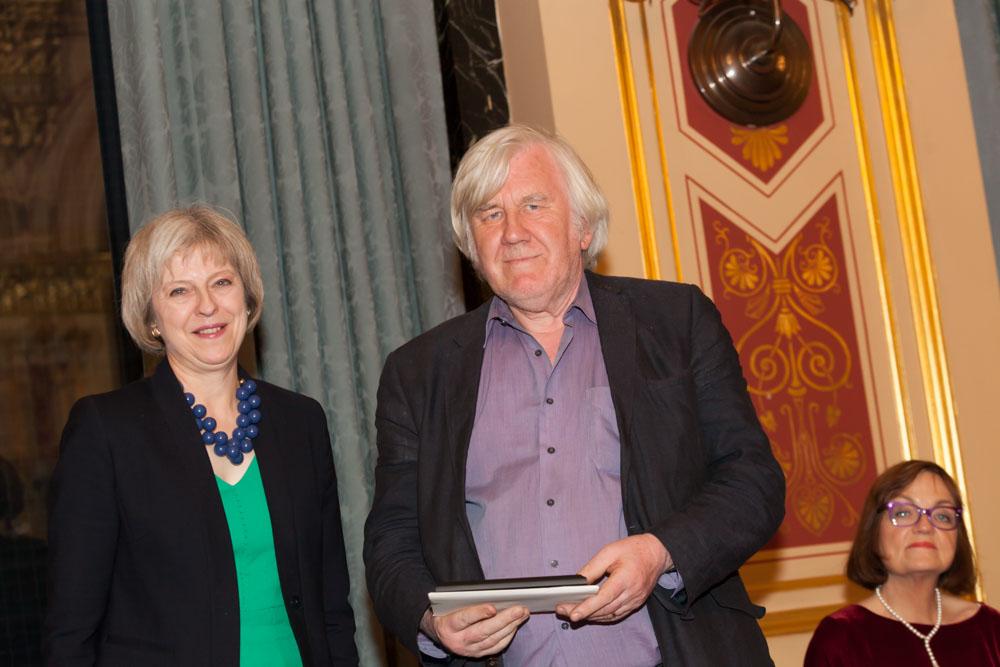 Professor Gary Craig receives Marsh Award