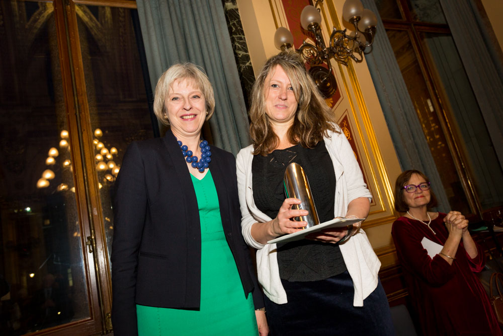 Rachel Witkin, Helen Bamber Foundation recieves main Marsh award